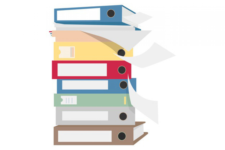 pile-files-folders-graphic-illustration_53876-8055
